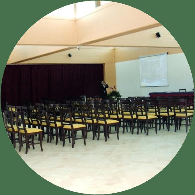 Centro congressi nel Villaggio